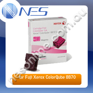 Fuji Xerox Genuine 108R00986 6 Pack MAGENTA Ink Sticks for Fuji Xerox CQ8870/CQ8880 17.3K Pages [108R00986]