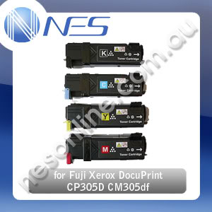 HV Compatible CT201632-CT201635 Toner Cartridge (Set of 4x) for Fuji Xerox DocuPrint CP305D CM305DF (3K pages Yield) [CT201632-CT201635]  *** Free Shipping ! ***