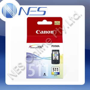 CANON Genuine CL511 COLOR Ink Cartridge for PIXMA MP230,MP240,MP250,MP260,MP270,MP280,MP480,MP490,MP495,MX320,MX330,MX340,MX350,MX360,MX410,MX420,IP2700 Printer [CL-511]