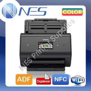 Brother ADS-3600W Sheetfed Wireless High Speed Advanced Document Scanner+ADF+Duplexer+NFC (RRP$1299)
