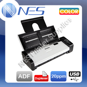 Avision AD-215W A4 Portable USB Document Scanner+Duplex+ADF+1-Yr Wty [AV3376] AD215W