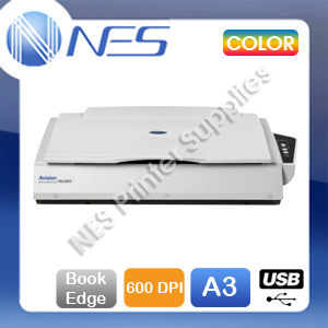 Avision FB-6280E A3 Color USB Bookedge Flatbed Scanner+1-Year Warranty [AV2991] FB6280E