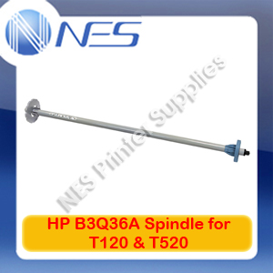 "HP Genuine B3Q36A Spindle for Designjet T120 24""/T520 24"" (914.4mmx125mmx125mm)"