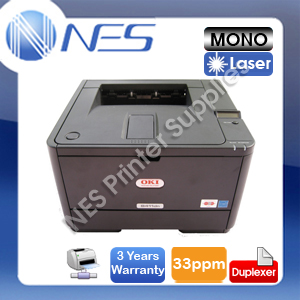 OKI B411DN Mono Laser Network+Parallel Port Printer+Duplexer *BONUS:3-yr Warranty*