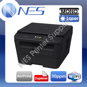 Brother HL-L2380DW 3-in-1 Mono Laser Wireless MFP Printer+Duplex+AirPrint *RFB*