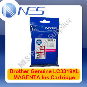 Brother Genuine LC3319XL-M MAGENTA High Yield Color Ink Cartridge for MFC-J5330DW/MFC-J5730DW/MFC-J6530DW/MFC-J6730DW/MFC-J6930DW (1500 Pages)