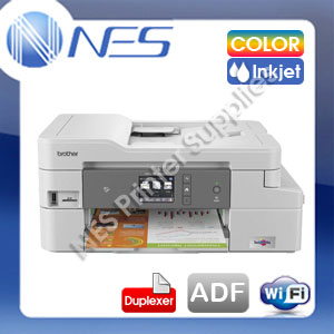 Brother MFC-J1300DW Multifunction Wireless Colour Inkjet Printer +ADF+Duplexer