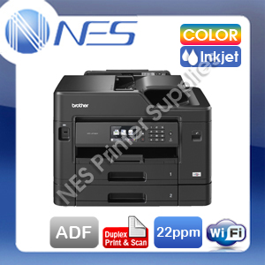 Brother MFC-J5730DW 4-in-1 Wireless Inkjet Printer+Duplex Print/Scan+Dual Tray
