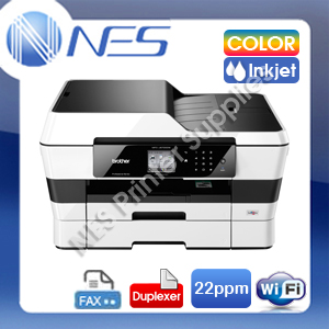 Brother MFC-J6720DW 4-in-1 A3 Wireless MFP Color Printer+Duplexer+FAX+ADF with 2nd Tray