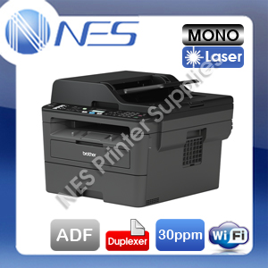 Brother MFC-L2710DW 4-in-1 Mono Laser Wireless Printer+Duplex+ADF+FAX+AirPrint