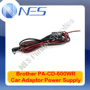 Brother Genuine PA-CD-600WR Hard Wired Car Adapter for PJ-622/PJ-623/PJ-662/PJ-663/PJ-673
