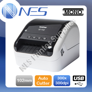 Brother QL-1100 Professional USB Direct Thermal Desktop Label Printer+Auto Cutter QL1100