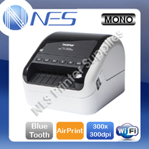 Brother QL-1110NWB Wireless Bluetooth Professional Desktop Label Printer+AirPrint QL-1110NWB