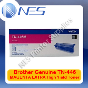 Brother Genuine TN-446M MAGENTA EXTRA High Yield Toner Cartridge for HL-L8360CDW/HL-L9310CDW/MFC-L8900CDW/MFC-L9570CDW (6.5K)