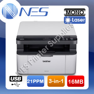 Brother DCP-1510 3-in-1 Mono Laser Printer /w TN1070 Starter Toner [DCP1510]