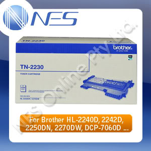 Brother Genuine TN2230 BLACK Toner Cartridge for HL-2240D/HL-2242D/HL-2250DN/HL-2270DW/DCP-7060D/DCP-7065DN/MFC-7360N/MFC-7362N/MFC-7460N/MFC-7860DW Printer (1,200 Pages) [TN-2230]