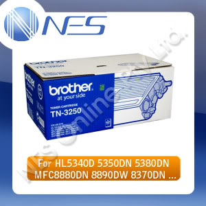 Brother Genuine TN3290 BLACK High Yield Toner for HL5340D/HL5350DN/HL5370DW/HL5380DN/MFC8370DN/MFC8880DN/MFC8890DW (8K Page Yield) [TN-3290] ***FREE SHIPPING***