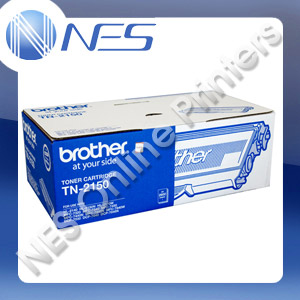 Brother Genuine TN-2150 BLACK Toner Cartridge for DCP7040/HL2140/HL2142/HL2150N/HL2170W/MFC7340/7440/7840W [TN2150] ***FREE POSTAGE!!!***