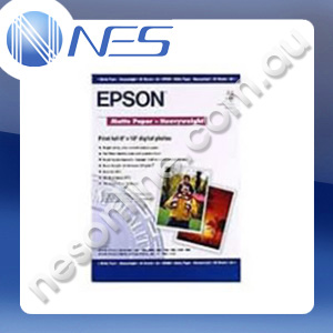 Epson A4 Matte Heavy Weight Paper 167gsm (50x Sheets) [P/N:S041258]