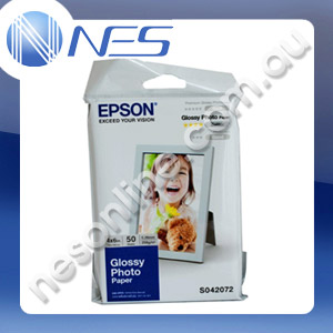 "Epson 4x6"" C13S042072 Glossy Photo Paper (50x Sheets) [P/N:S041867]"
