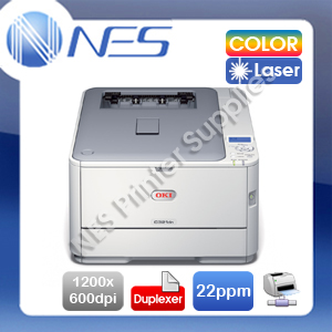 OKI C321dn Color Laser Network Printer+Duplex+BONUS:3-Years Warranty PN:44951536