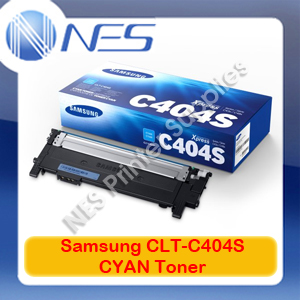 Samsung Genuine CLT-C404S CYAN Toner Cartridge for SL-C430W/SL-C480FW (1K) ST979A