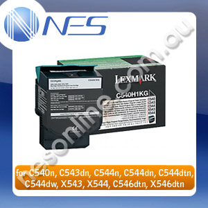 Lexmark Genuine C540A1MG MAGENTA Toner Cartridge for C54x, X54x C540n/C543dn/C544n/C544dn/C544dtn/C544dw/C546dtn Printer 1,000 Pages Yield