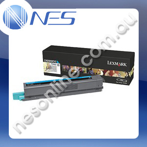 Lexmark Genuine C925H2CG CYAN High Yield Toner Cartridge for Lexmark C925DE [C925H2CG]