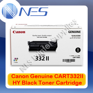 Canon Genuine Cart332II Black High Yield Toner Cartridge for LASER SHOT LBP7780Cx