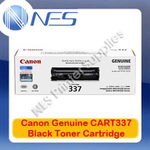 Canon Genuine Cart337 Black Toner Cartridge for imageCLASS MF229dw Cart337BK