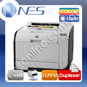 HP Color LaserJet Pro 400 M451dn Color Laser Network Printer+Auto Duplexer [P/N:CE957A]