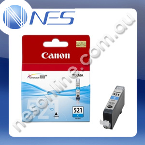 Canon Genuine CLI521C CYAN Ink Cartridge for Canon IP3600/IP4600/IP4700/MP540/MP550/MP560/MP620/MP630/MP640/MP980/MP990/MX860/MX870 [CLI-521C]