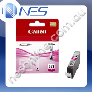 Canon Genuine CLI521M MAGENTA Ink Cartridge for Canon IP3600/IP4600/IP4700/MP540/MP550/MP560/MP620/MP630/MP640/MP980/MP990/MX860/MX870 [CLI-521M]