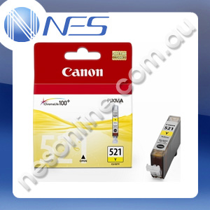 Canon Genuine CLI521Y YELLOW Ink Cartridge for Canon IP3600/IP4600/IP4700/MP540/MP550/MP560/MP620/MP630/MP640/MP980/MP990/MX860/MX870 [CLI-521Y]