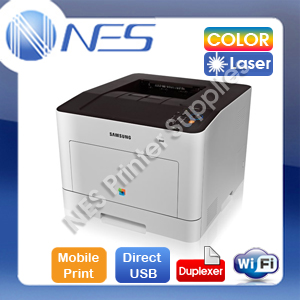 SAMSUNG CLP-680DW Wireless Color Laser Printer+Duplexer/w 506 Toner Set SC *RFB*