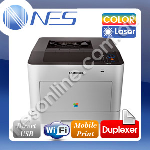 SAMSUNG CLP680DW Wireless Color Laser Printer+Duplexer /w 506L HY Starter Toner [CLP-680DW]