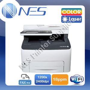 Fuji Xerox CM225fw 4-in-1 Wireless Color Laser Multifunction Printer+FAX+AirPrint w/Touch Screen