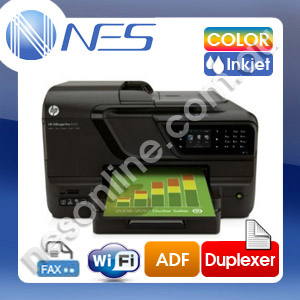 HP Officejet Pro 8600 e-All-In-One Multi-Function Colour Inkjet Printer+Duplex+Wireless+ADF (P/N:CM749A)