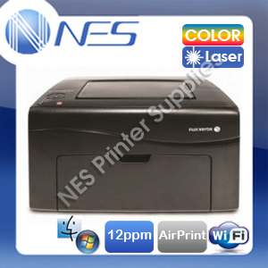 Fuji Xerox CP115W Wireless Color Laser Network Printer DPCP115w+AirPrint (BLACK)