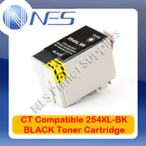 CT Compatible 254XL BLACK EXTRA High Yield Ink Cartridge for Epson WF-3620/WF-3640/WF-7610/WF-7620