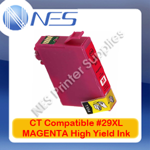CT Compatible #29XL MAGENTA High Yield Ink Cartridge for Epson XP-235/XP-245/XP-432/XP-442 [C13T299392]