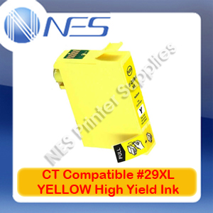 CT Compatible #29XL YELLOW High Yield Ink Cartridge for Epson XP-235/XP-245/XP-432/XP-442 [C13T299492]