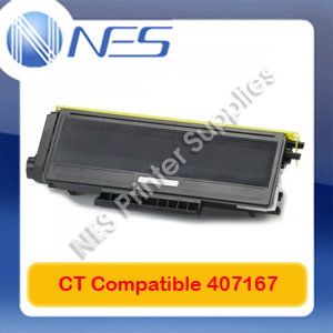 CT Compatible 407167 BLACK Toner Cart=>Lanier/Ricoh SP100e/SP100SUe/SP100 (1.2K)