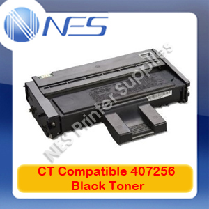CT Compatible 407256 A-Grade BLACK Toner for Ricoh SP201N/SP204SF/SP213NW/SP213SFNW (2.6K)