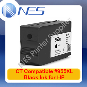CT Compatible 955XL BLACK HY Ink Cart-> OfficeJet 8740/8730/8720/8710/8216/8210