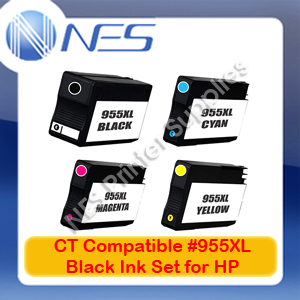 CT Compatible 955XL BK/C/M/Y x4 HY Ink Set->Officejet 8210/8216/8710/8720/8730/8740