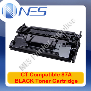 CT Compatible #87A BLACK Toner Cartridge for HP LaserJet Enterprise M506/M506dn/M527/M527c/M501/M501n [CF287A] 9K