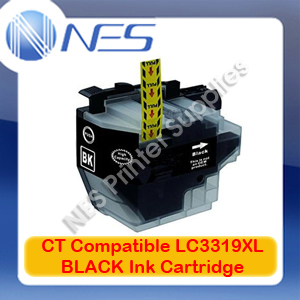 CT Compatible LC3319XL-BK BLACK High Yield Ink Cartridge for Brother MFC-J5330DW/J5730DW/J6530DW (3K)
