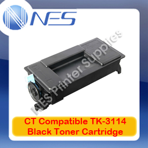 TW TK3114 A-Grade Compatible BLACK Toner Cartridge for Kyocera FS4100DN (15.5K)