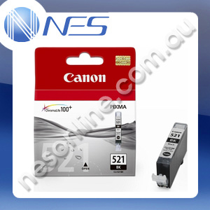 Canon Genuine CLI521BK BLACK PHOTO Ink Cartridge for Canon IP3600/IP4600/IP4700/MP540/MP550/MP560/MP620/MP630/MP640/MP980/MP990/MX860/MX870 [CLI-521BK]